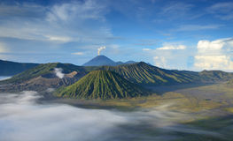 Mount Bromo, Java, Indonesia Stock Images