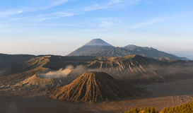 Mount Bromo, Java, Indonesia. Show detail and texuret Royalty Free Stock Photos