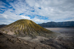 Mount Bromo. Landscape at day stock photos