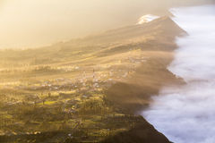 Mount Bromo landscape at sunrise Stock Photo