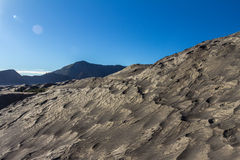 Mount Bromo sands in Indonesia Stock Photos