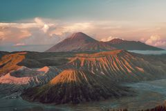 Mount Bromo at sunrise Royalty Free Stock Photography