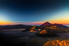 Mount Bromo. Sunrise in mount bromo indonesia royalty free stock photo