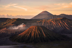 Mount Bromo. Sunrise at Mount Bromo, Indonesia Stock Photo