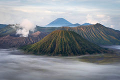 Mount Bromo at Sunrise, Java, Indonesia Royalty Free Stock Photo