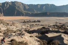 Mount Bromo Temple. Mount Bromo Tengger National Park Stock Photography