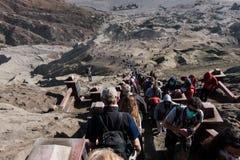 Mount bromo temple. Mount bromo tengger national park Stock Images