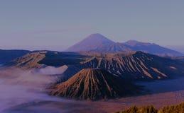 MOUNT BROMO TENGGER SEMERU. EAST JAVA, INDONESIA Royalty Free Stock Images