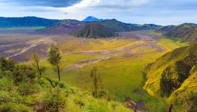Mount Bromo volcano, East Java, Indonesia Royalty Free Stock Photos