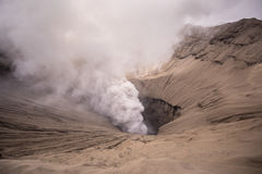 Mount Bromo volcano in East Java, Indonesia. Stock Images