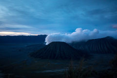 Mount Bromo volcano in East Java, Indonesia. Royalty Free Stock Images