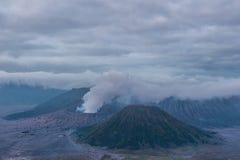 Mount Bromo volcano & x28;Gunung Bromo& x29; in Bromo Tengger Semeru Natio Royalty Free Stock Photography