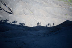 Mount Bromo volcano, Indonesia Stock Images