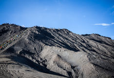 Mount Bromo volcano, Indonesia. Mount Bromo is an active volcano, Indonesia royalty free stock photography