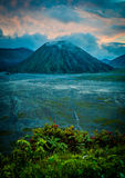 Mount Bromo volcano, Indonesia Stock Photos