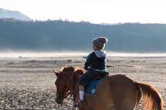 Mount Bromo Young Riders. Mount Bromo Tengger National Park Stock Image