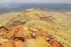 Mount Bruce near Karijini National Park, Western Australia Royalty Free Stock Image