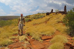 Mount Bruce near Karijini National Park, Western Australia Stock Image