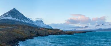 Mount Bulandstindur Iceland Stock Photography