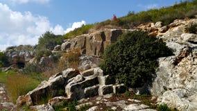 Mount Carmel Beit Oren Royaltyfri Fotografi