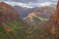 Mount Carmel Zion National Park Arkivbilder