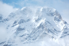 Mount Cascade. Near Banff in the Canadian Rockies Royalty Free Stock Photos