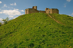 Mount of the castle Stock Photography