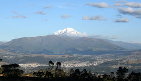 Mount Cayambe in Ecuador Royalty Free Stock Photography