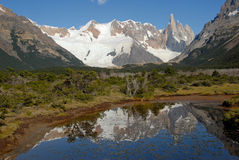 Mount Cerro Torre Stock Image