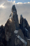 Mount Cerro Torre, Patagonia, Argentina. stock photo