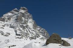 Mount Cervino Stock Photos
