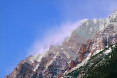Mount Chapin of Colorado Stock Images