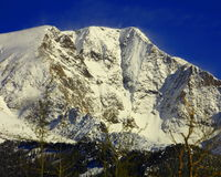 Mount Chapin in Rocky Mountain National Park Stock Photos