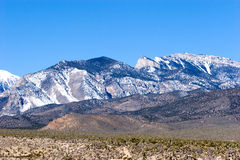 Mount Charleston in Nevada Stock Photo