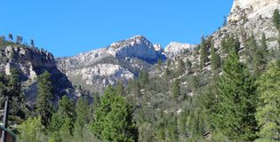Mount Charleston. A picture capturing the prettiness of Mount Charleston in Las Vegas, Nevada, USA Stock Photos