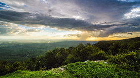 Mount Cheaha Rain Stock Images