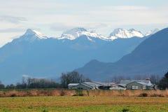 Mount Cheam Range Stock Photo