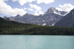 Mount chephren. Banff national park, canada - adobe RGB stock photos