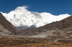 Mount Cho Oyu - way to Cho Oyu base camp - Everest area Stock Photo