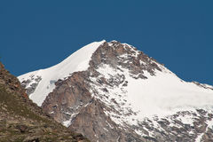 Mount Ciarforon. Ciarforon photographed from the cross Arolley in Valsavaranche in the Gran Paradiso National Park Stock Photos