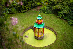 Mount congreve garden waterford temple. Temple in mount congreve garden in waterford, Ireland Royalty Free Stock Photo
