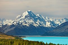 Free Mount Cook Royalty Free Stock Photography - 7832617