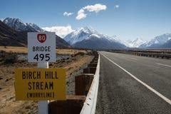 Mount Cook (Aoraki) Road