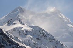 Mount Cook (Aoraki) Summit Stock Photography