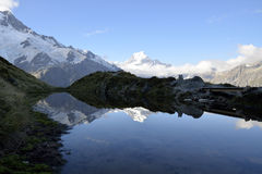 Mount Cook evening landscape, New Zealand. Stock Images