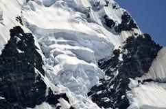 Mount Cook glacier, New Zealand. Stock Images