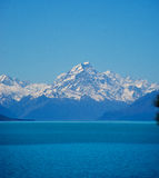 Mount Cook Lake Pukaki Stock Photography