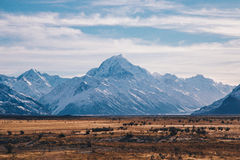 Mount Cook landscape Royalty Free Stock Image