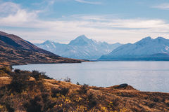 Mount Cook landscape Royalty Free Stock Photos