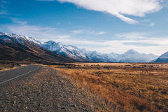 Mount Cook landscape Stock Photography